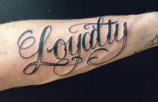 loyalty quotes tattoo ideas